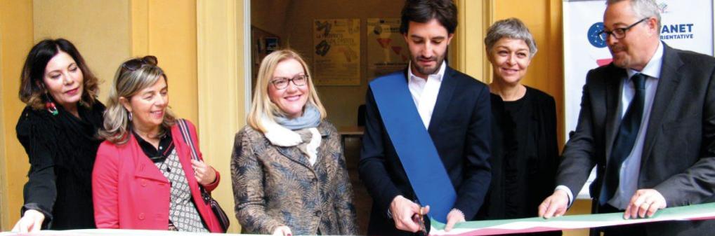 ORIENTANET: Inaugurato il nuovo sportello di informazione, ascolto e orientamento a Reggio Emilia